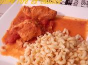 Poulet hongroise (aux tomates paprika)