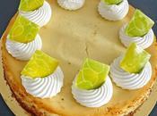 Cheesecake classique citron vert
