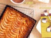 Tarte fine pommes pâte feuilletée}