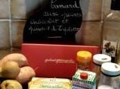 mange quoi demain Canard poires chocolat piment d'Espelette