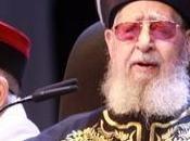 ISRAËL. Décès rabbin raciste idéologue parti extrémiste Shass, Ovadia Yosef