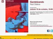Nouvelle exposition peinture Museo Casa Carlos Gardel l'affiche]