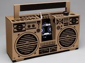 Berlin Boombox sound system origami pour votre iPhone
