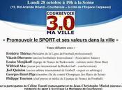 Réunion lundi octobre Promouvoir SPORT valeurs dans ville