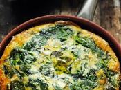 Frittata soir… épinards, basilic parmesan autres considérations goûts terme décoration…