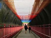 """Rituals"" ciel dessus pont Williamsburg, HOTTEA Street"