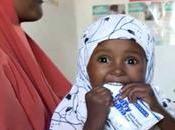 Somalie enfants rétablissent après avoir souffert malnutrition aigüe