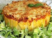 Tarte rigatoni boeuf sauce poivronade