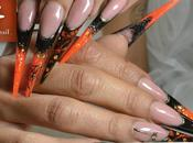 Pose d'ongles thème d'halloween Christine Lawniczak sensationail.fr