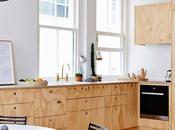 Melbourne, appartement bois blond
