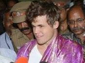 Echecs Carlsen arrivé Inde