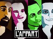 "l'Appart"" websérie soutenue Pokora, Alizée"
