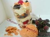 Mousse Mascarpone Crème Fruits Rouges.