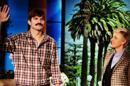Ashton Kutcher triste d'etre imberbe, adopte fausse moustache