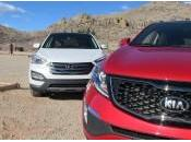Sorento 2014 Hyundai Santa Match comparatif