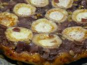 Tatin d'oignon rouge chèvre onion goat cheese tarte tatin