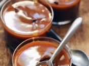 Crème chocolat caramel pour terminer menu vraiment très Reconfort'food avec Marque Repère
