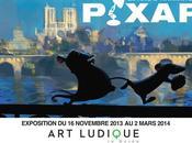 Exposition d'animation Pixar