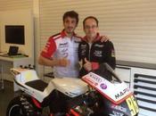 Actu Test 2014 Moto-2 Jerez ...Louis Rossi signé