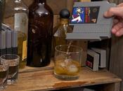 Entertainment Flask: cartouche nintendo flasque whisky
