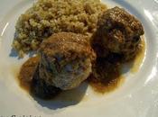 Boulettes poulet piment vert sauce curry