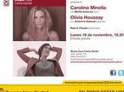 concert lundi soir Museo Casa Carlos Gardel l'affiche]