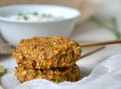 Galettes-sucettes apéritives végétales tomates séchées, graines pavot ciboulette