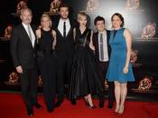Hunger Games L'embrasement l'Avant Première Paris avec Jennifer Lawrence, Josh Hutcherson Liam Hemsworth