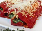 Cannelloni épinards sauce tomate