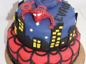 Gâteau Spiderman Pâte sucre