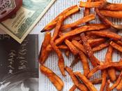 Frites patates douces paprika