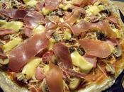 Pizza post raclette pour finir restes!