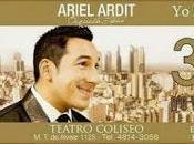 Ariel Ardit présente nouveau disque, avec orchestre, Teatro Coliseo l'affiche]