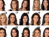 candidates l'élection Miss France 2014 dévoilent