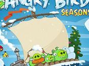 Angry Birds Seasons iPhone, direction glaçons...
