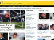 Nouveau site pour couverture sportive live
