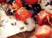Tilapia olives tomates cerises