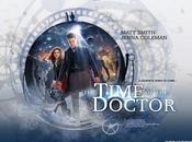 """Doctor """"The Time Doctor"""" poster premières images l'épisode Spécial Noël 2013"""