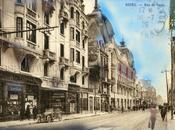 Vesle magasins modernes pendant reconstruction Reims
