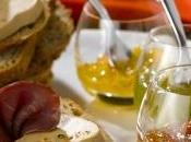 Tartine Foie Gras, pétales magret farandole compotées chutneys
