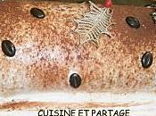 Bûche tiramisu caramel beurre salé Benoit Molin