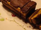 Cake marbré chocolat potimarron