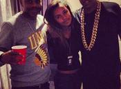 Jay'Z rend hommage Nelson Mandela nice avec Damon Dash fille coulisses