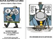 Chat Geluck s'expose Gallerie Pallade miauler plaisir!!