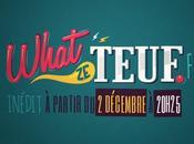What Teuf, première série télévisée participative