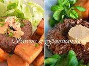 Steak Haché Façon Rossini Fondant Pommes.