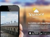 Yahoo Météo iPhone, maintenant iPad...