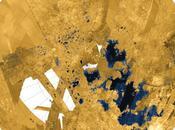 Mers lacs d'hydrocarbures Titan révélés Cassini