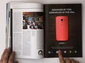 Motorola impressionnante publicité interactive pour Moto