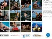 calendrier 2014 pour cycliste Voici plus moche